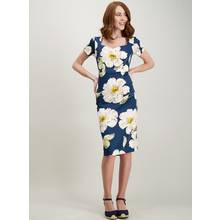 Multicoloured Floral Print Shift Dress