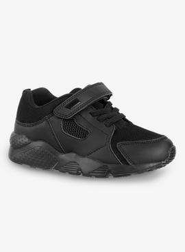 Black Back To School Trainers
