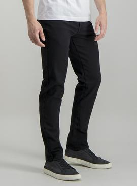 Online Exclusive Black Wash Slim Fit 4 Way Stretch Jeans