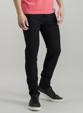 Online Exclusive Black Skinny Fit 4 Way Stretch Denim Jeans