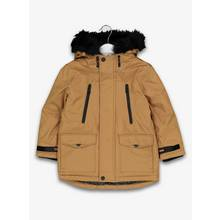 Brown Performance Parka Coat