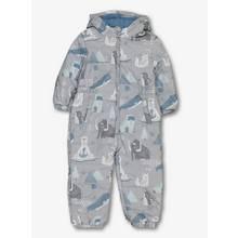 Grey Arctic Animal Snow Suit