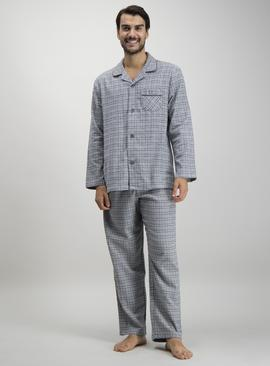 Grey Check Traditional Pyjamas
