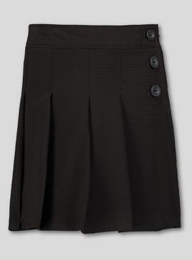 Grey Pleated Skort