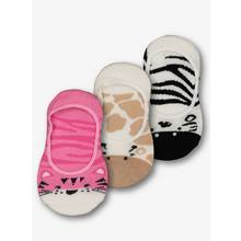 Multicoloured Animal Footsie Socks 3 Pack (6 Infant - 5.5 Ad