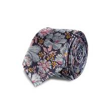 Multicoloured Floral Slim Tie - One Size