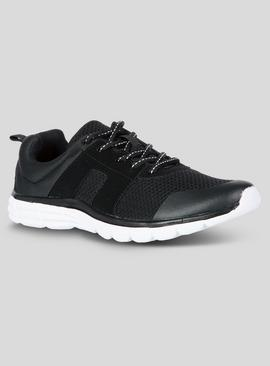 Black Lightweight Basic Trainers