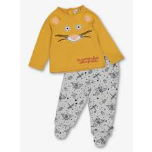 The Gruffalo Mouse Mustard & Grey Pyjamas