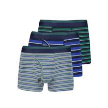 Multicoloured Rugby Stripe Trunk 3 Pack