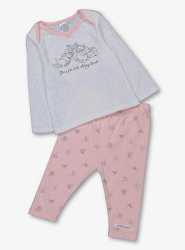 Peter Rabbit Flopsy Pink & Cream Pyjamas