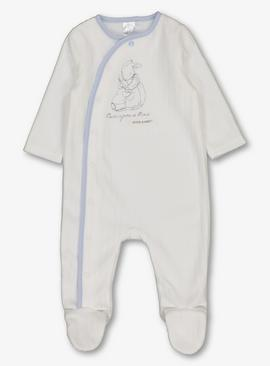 Peter Rabbit Cream Fleece All In One