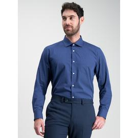 Navy & Blue Tailored Fit Easy Iron Shirts 2 Pack