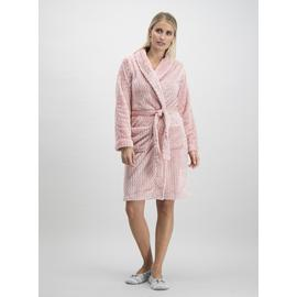 Pink Fleece Dressing Gown