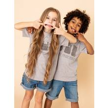 Unisex Grey 'Reduce, Reuse, Recycle' T-Shirt (3 - 14 Years)
