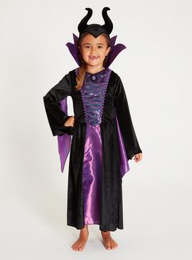 Disney Maleficent Purple 2-Piece Costume - 9-10 years