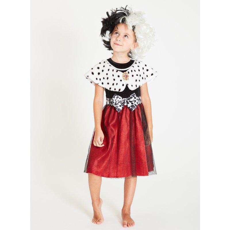 Disney 101 Dalmatians Cruella Dress & Wig - 11-12 years from Argos