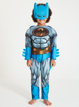 Batman Blue & Grey All In One Costume - 9-10 years