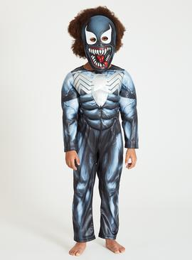 Online Exclusive Disney Marvel Venom Costume - 9-10 years
