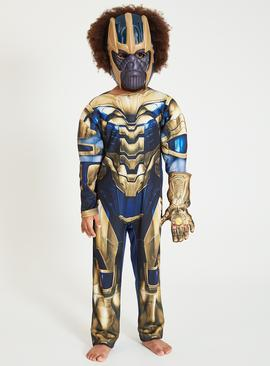 Marvel Avengers Blue Thanos Costume - 9-10 years