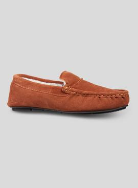 Online Exclusive Tan Suede Moccasins