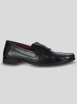 Sole Comfort Black Leather Loafers