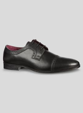 Online Exclusive Sole Comfort Black Leather Brogues
