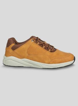 Online Exclusive Sole Comfort Tan Trainers
