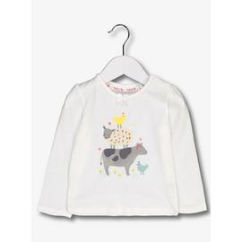 White Farm Animal Jersey T-Shirt