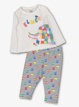 Elmer Multicoloured Pyjamas