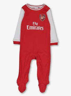 Arsenal Football Club Red Sleepsuit