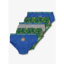 Disney Toy Story Blue & Green Briefs 5 Pack