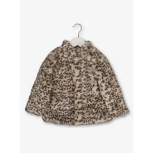 Online Exclusive Brown Leopard Fur Coat