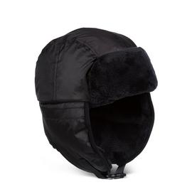 SOCKSHOP HEAT HOLDERS Black Aviator Hat