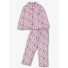 Pink Stripe Unicorn Woven Pyjamas