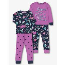 Lilac 'Girl Power' Pyjama 2 Pack