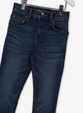 Blue Denim Mid Wash Skinny Fit Jeans