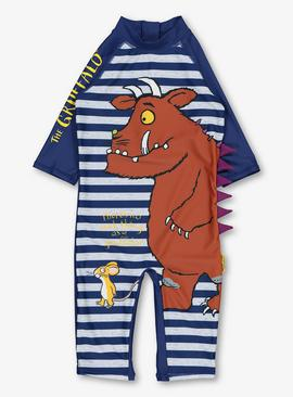 The Gruffalo Navy Sunsuit