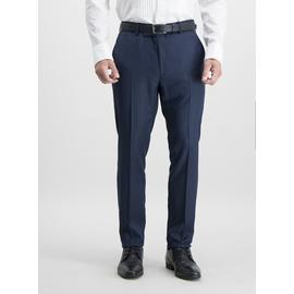 Online Exclusive Navy Skinny Fit Tuxedo Trousers