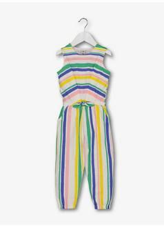 f41505c362a9 Tu. Multicoloured Stripe Jersey Jumpsuit (9 months - 6 ...