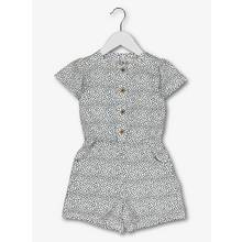 Monochrome Spotted Playsuit (9 Months - 6 Years)
