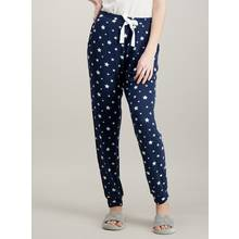 Blue Star Print Pyjama Bottoms