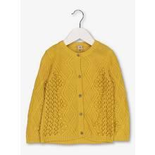 Mustard Yellow Cable Cardigan
