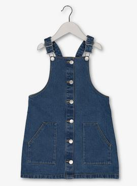 Blue Denim Pinafore