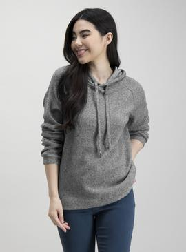 Charcoal Grey Soft Touch Hoodie