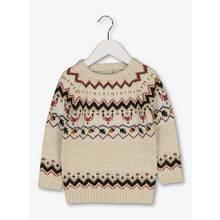 Cream Fair Isle Knitted Jumper