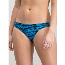 Blue Animal Print Bikini Briefs - 10