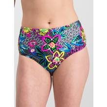 Online Exclusive Multicoloured Floral High Waisted Briefs