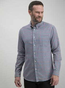Multicoloured Gingham Regular Fit Oxford Shirt