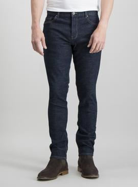 Dark Rinse Wash Denim Skinny Fit Jeans