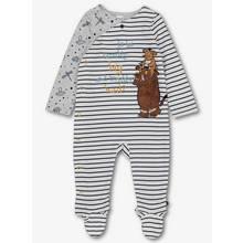 The Gruffalo White Striped Sleepsuit